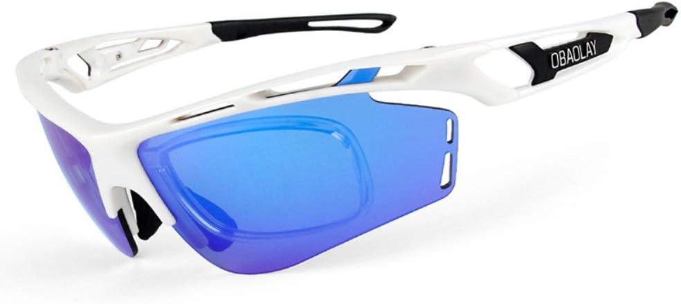 Gafas de sol polarizadas deportivas Gafas de ciclismo con 4 lentes intercambiables, deportes polarizados, mujeres, hombres, gafas de sol de ciclismo Gafas de ciclismo para hombre y mujer: Amazon.es: Hogar