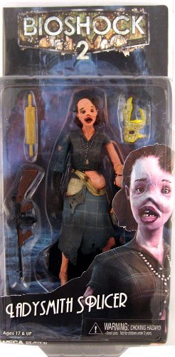NECA Bioshock 2 Series 2 Action Figure Ladysmith Splicer