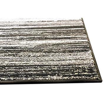 Amazon Com Super Area Rugs Dark Gray Rug Modern