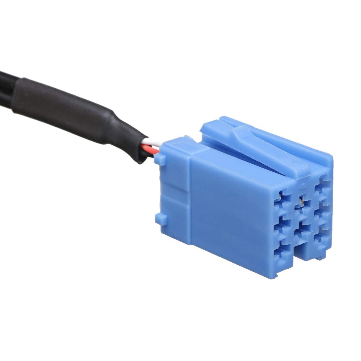 Tiamu Adaptador de M/úSica Auxiliar Blue-Tooth Interfaz Radio Inal/áMbrica Est/éReo Cable Auxiliar para Alfa Romeo 147156159 Brera Mito GT Giulietta