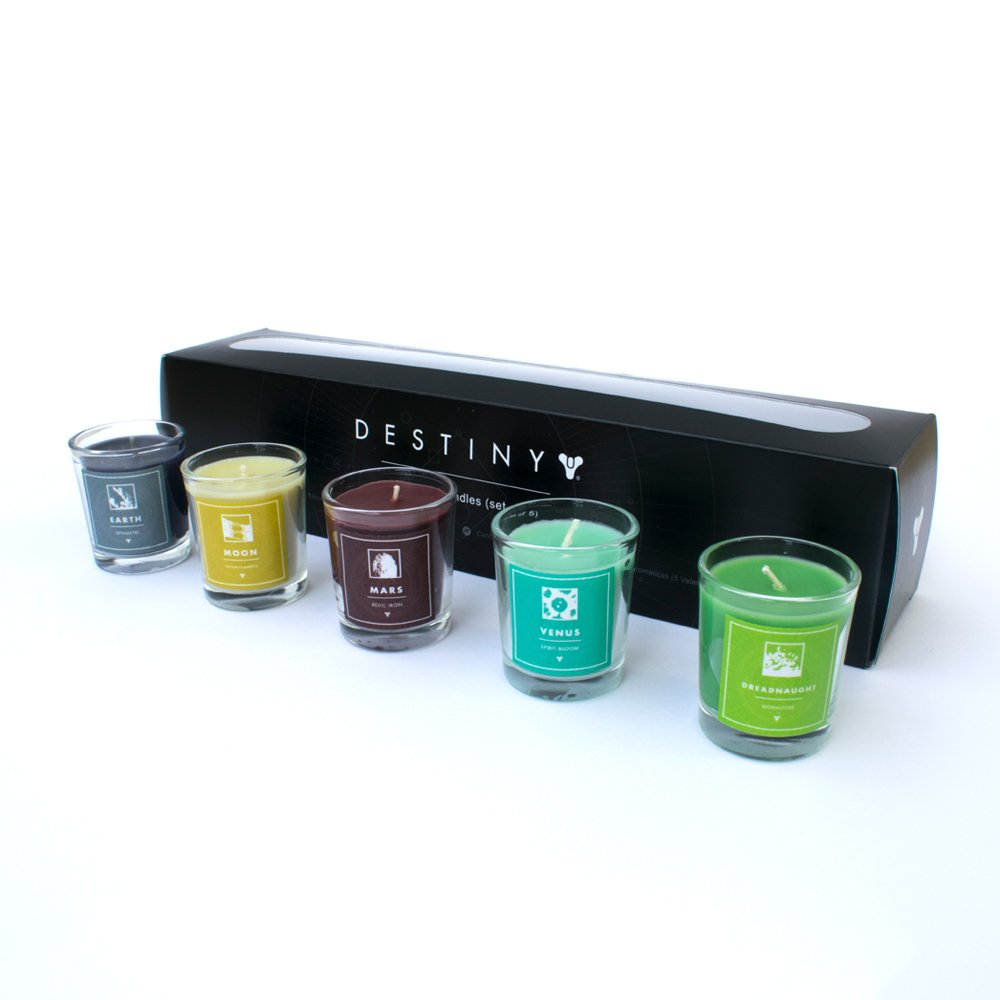 Official Destiny Planet Scented Candles Pack of 5 Numskull PGEECNRUA36988