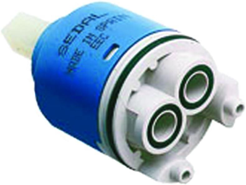 White 25 mm SCC25 Ceramic Cartridge