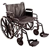 Roscoe Medical K72218DHRSA K7-Lite Wheelchair with Swing Away Footrests, 22