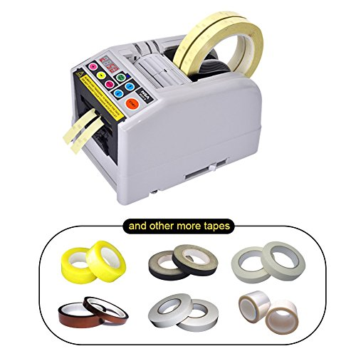 - NSA Automatic Electronic Tape Dispenser ZCUT-9 With Better Stainless Golden Blade Fits for More Type Tapes Cutting/Support Both Adhesive and Non-adhesive Tapes