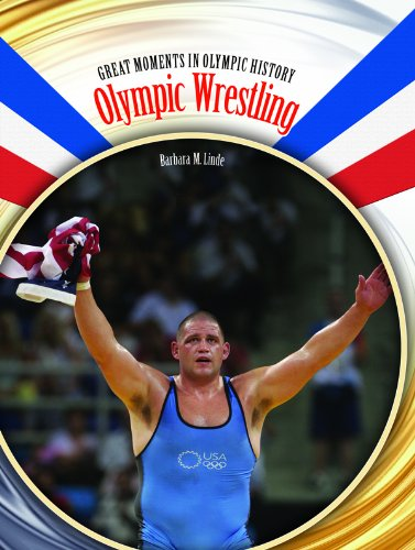 Olympic Wrestling (Great Moments in Olympic History) by Rosen Central (Image #2)