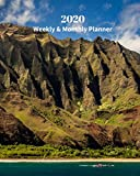 2020 Weekly and Monthly Planner: Hawaii Islands - Monthly Calendar with U.S./UK/ Canadian/Christian/Jewish/Muslim Holidays- Calendar in Review/Notes 8 x 10 in.-Tropical Island Travel Vacation
