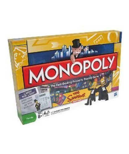 Amazon Monopoly Simpsons Electronic Edition Toys Games