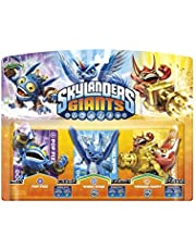 Skylanders Giants: Triple Pack A (Pop Fizz, Trigger Happy, Whirlwind) - compatible con Trap Team