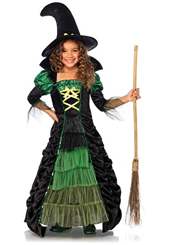 [Leg Avenue Children's Storybook Witch Costume] (Beautiful Witch Costumes)