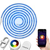 Cheap Rope Lights LED Light Strip DONWELL Smart APP WiFi Controlled Alexa Voice Controlled Google Home Controlled Wireless Color Changing Intelligent Lights Kit 6.6ft Working with Android and iOS