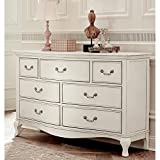 Hillsdale Kids and Teens 20500 Kensington NE Kids 7 Drawer Dresser, Antique White