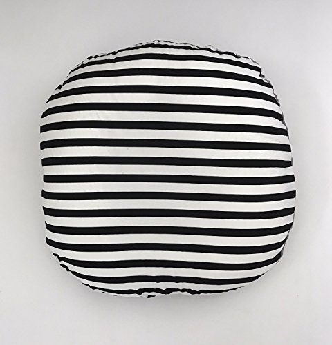 Lounger Cover - Black and White Stripe by Lullabies and Lollipops