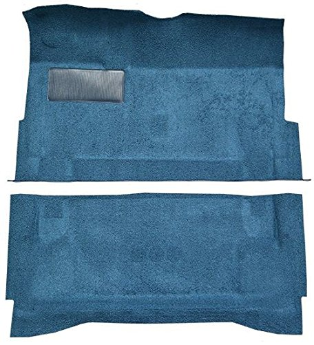 1966 to 1970 Oldsmobile Toronado Carpet Custom Molded Replacement Kit (512-Blue 80/20 Loop)
