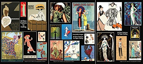 #2241 Art Deco Ladies Images for Crafting