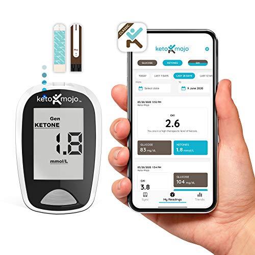 KETO-MOJO Bluetooth Ketone Glucose