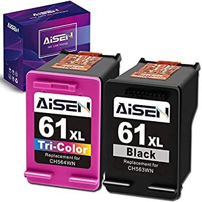 Combo Ink Cartridges for HP 61XL 1000 1010 1050 1051 1056 1512 1055 1510