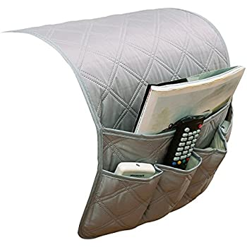 Amazon Com 5 Pockets Sofa Armrest Cover Organizer Double