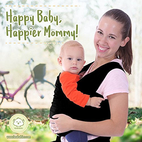 Baby Wrap Carrier By Keababies All In 1 Stretchy Baby Wraps 3