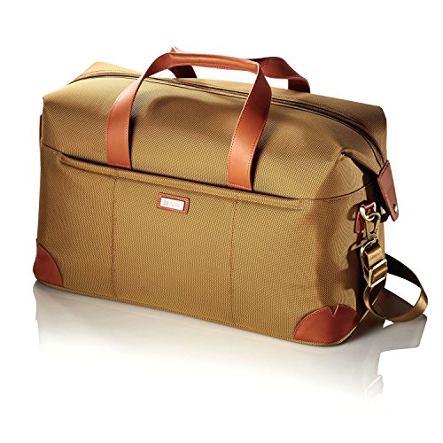 Hartmann Ratio Classic Deluxe Weekend Nylon Duffel Bag in Safari by Hartmann