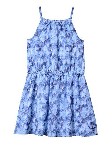 Nautica Little Girls' Spaghetti Strap Fashion Dress, Bright Blue Shells, - Strap Spaghetti Shell