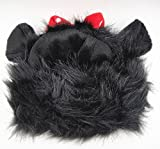 FAMI Pet Costume Mickey Wig with Ears Christmas Costumes Festival Party Clothes Fancy Dress up for Dog Cat - Black Color