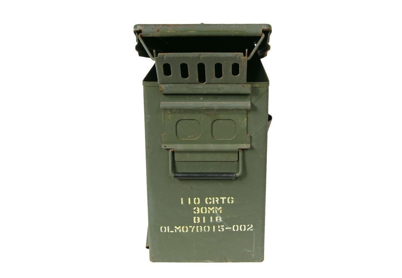 Us Bo/îte /à outils en m/étal pour munitions Taille 9 Vert olive 48 x 22 x 37 cm