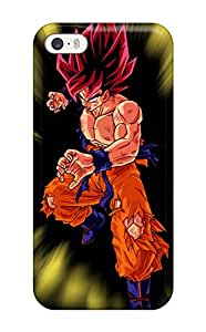 Hot Snap-on Super Saiyan Goku Hard Cover Case/ Protective Case For Iphone 5/5s