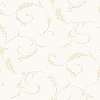 Graham Brown 20 727 Athena White Gold Wallpaper