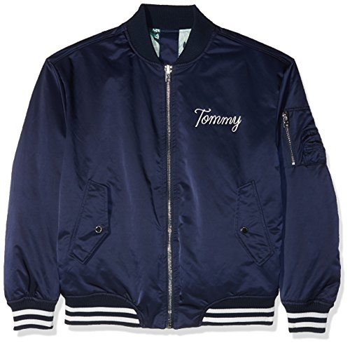 Azul Tommy Mujer Chaqueta Bomber Navy Blazer 416 para Jeans nffFqrX