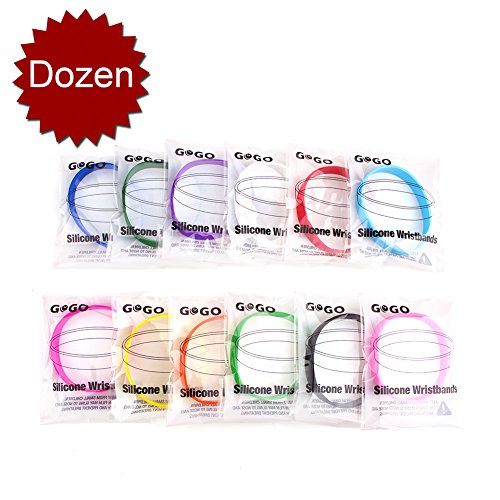 Party Rubber Wristbands - 9