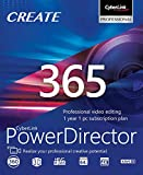 Software : CyberLink PowerDirector 365 - 1 year subscription [PC Download]