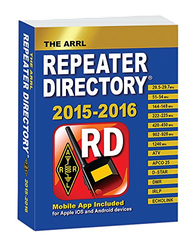 The ARRL Repeater Directory 2015/2016 Pocket Size (Ham Repeater Directory)