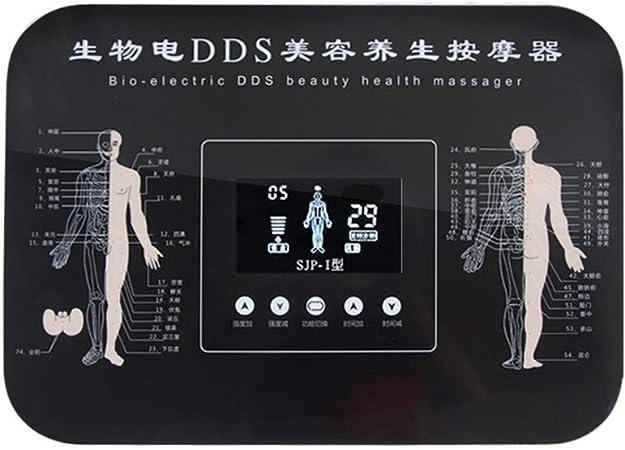 OKBYY TENS DDS Electroestimulador Estimulador Muscular Masajeador Electro Masajeador Corporal Alivio del Dolor Meridiano Máquina de Fisioterapia Muscular de Relajación Dispositivo: Amazon.es: Hogar