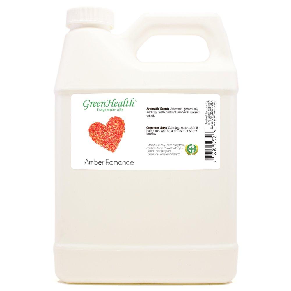 32 fl oz Amber Romance Fragrance Oil (Plastic Jug w/Cap) - GreenHealth