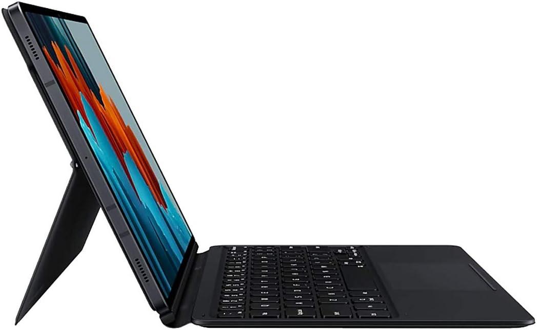 Samsung Ef Dt870ubegww Tastatur Für Galaxy Tab S7 Schwarz Elektronik