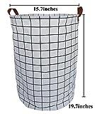 CLOCOR Collapsible Round Storage Bin /Large Storage
