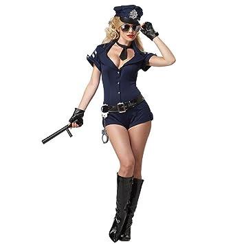 Mia Home Polizeikostum Polizistin Cop Polizei Karneval Kostum Damen