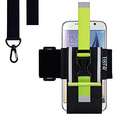 EOTW Running Sport Armband für Samsung Iphone Universelles Smartphone Lauf Armband mit veränderbarer Länge (4''-6'')