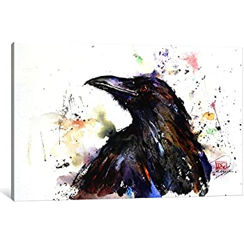iCanvasART 1-Piece Eagle II Canvas Print by Dean Crouser 12 x 12//0.75 Deep