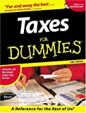 Taxes for Dummies, Eric Tyson and David Silverman, 0764553062
