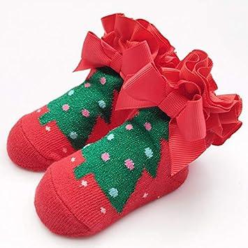 SoftskySocks Calcetines 5 Pares de otoño e Invierno Calcetines de Encaje de Encaje bebé algodón niños Jacquard Calcetines de los niños: Amazon.es: Deportes ...