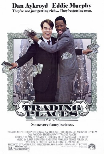 (27 x 40 Trading Places Movie Poster)