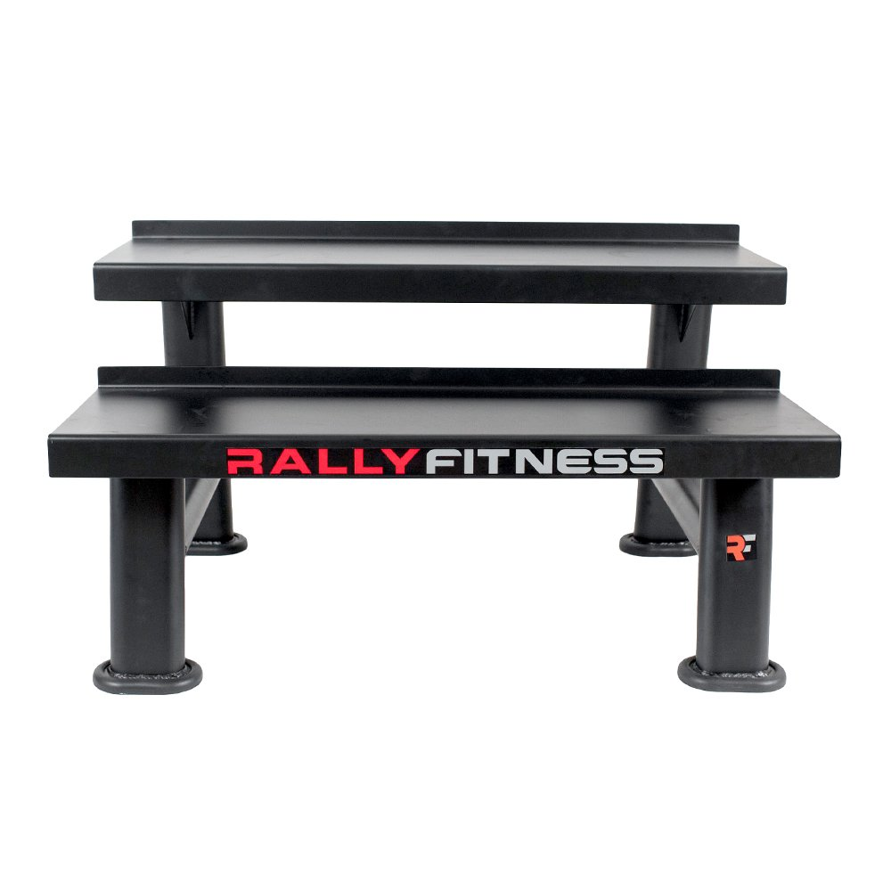 Rally Fitness Kettlebell / Hex Dumbbell Storage Rack