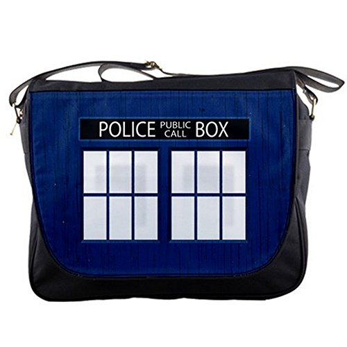 Doctor Who Tardis Messenger Shoulder Bag