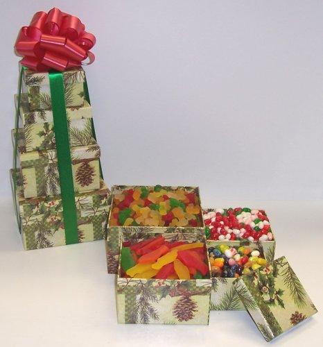 Scott's Cakes 4 Tier Pine Cone Box Candy Dreams
