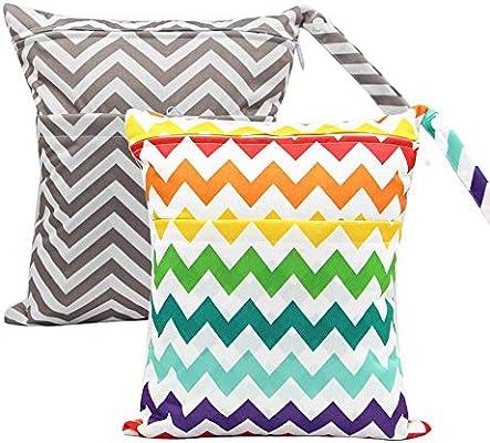 Amazon.com: AOLVO - Bolsas de pañales para bebé ...