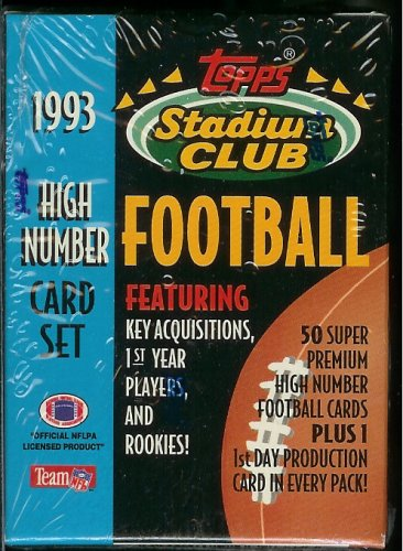 Topps Super Football - 1993 Topps Stadium Club Football High Number Card Set