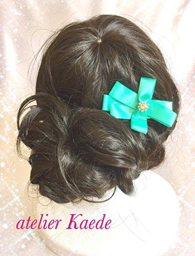 Hair clip, barrette, stylish ribbon (Tiffany Barrette)