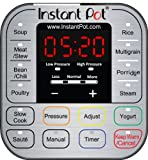 Instant Pot DUO60 V3 6 Qt 7-in-1 Multi-Use Programmable Pressure Cooker, Slow Cooker, Rice Cooker, Steamer, Sauté, Yogurt Maker and Warmer