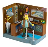 The Simpsons Series 13 Playset Military Antique Shop with Herman